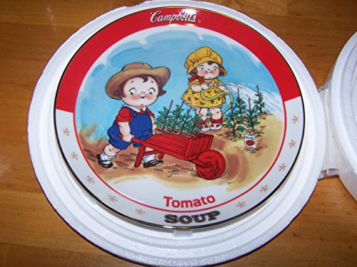 Campbells KidsTomato Soup Plate Bradford Exchange Collectors for sale  Delivered anywhere in USA