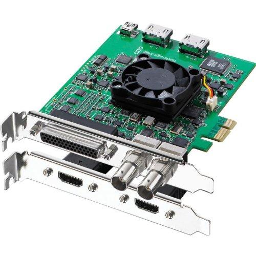 Blackmagic Design DeckLink Studio 2 SD/HD Broadcast Video PCI Express Capture Card with SDI, HDMI and Analog (Analog Video Firewire Converter)