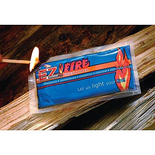 EZ Fire Firestarter (Case of 100) Pre-Measured For Convenience by EZ Fire (Image #1)