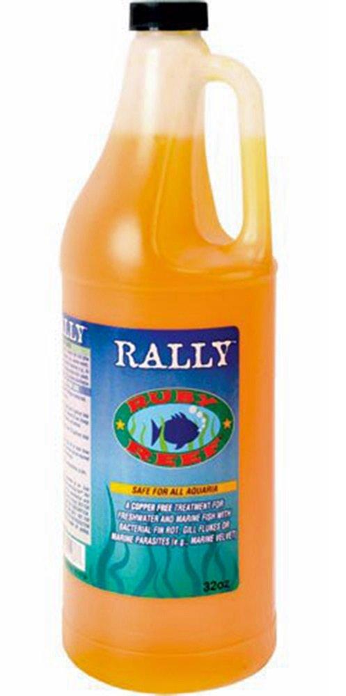 Ruby Reef Rally Aquarium Water Treatment, 32-Ounce