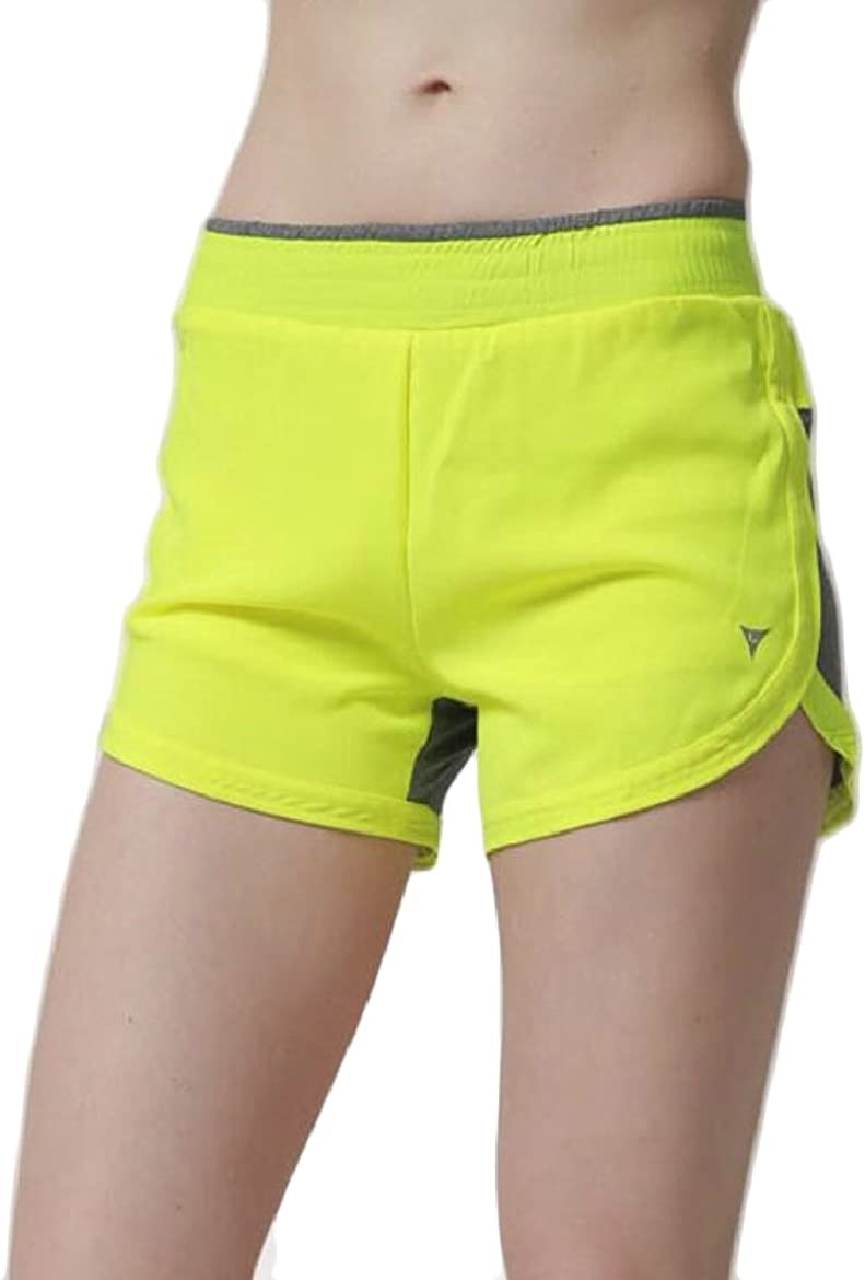 ONTBYB Womens Retro Fashion Dolphin Running Workouts Shorts