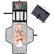 Crystal Baby Smile Portable Changing Pad - Diaper Clutch...