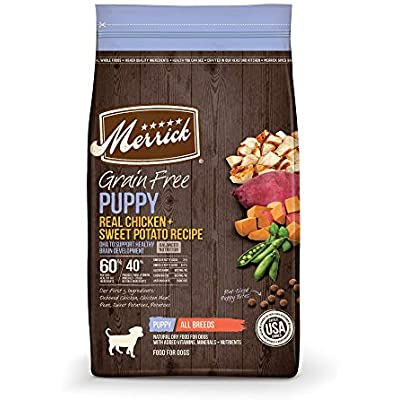 Merrick Grain Free Chicken + Sweet Potato Recipe Dry Puppy Food