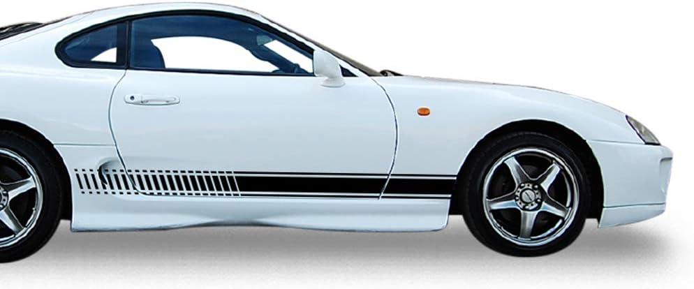 TOYOTA CELICA 2x side stripes vinyl body decal sticker graphics premium quality