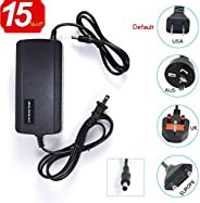 Pangding 24V 0.6A Electric Scooter Battery Charger Plug Compatible with Razor E100 E125 E500S PR200 110V