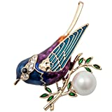 Szxc Jewelry Bird Collection Custom Accessories Wedding Brooches Pin Jewelry Gifts Women Teen