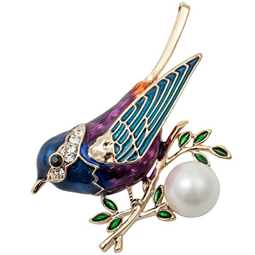Szxc Jewelry Bird Collection Custom Accessories Wedding Brooches Pin Jewelry Gifts Women Teen by Szxc Jewelry (Image #4)