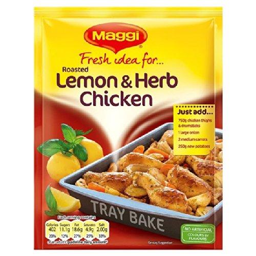 Maggi Idea fresca para asado limón y hierbas pollo 33g: Amazon.es: Alimentación y bebidas