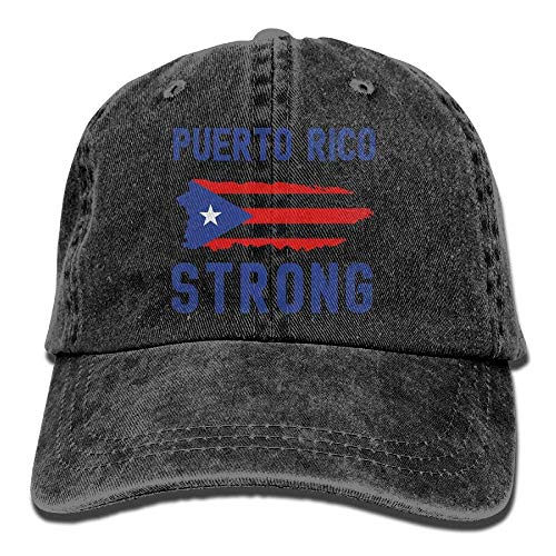 Strong Gorras Women Como Baseball Puerto Hat Tactical Soy Rico Adjustable Denim Tu Flag No Hat béisbol TH8n8W