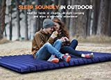 Hikenture Double Sleeping Pad,Extra Thick 3.75in