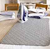 Original Portable Ironing Mat 18 Inch x 31 Inch Iron Anywhere Ideal For Small Apartments Travel By DINY Home and Style