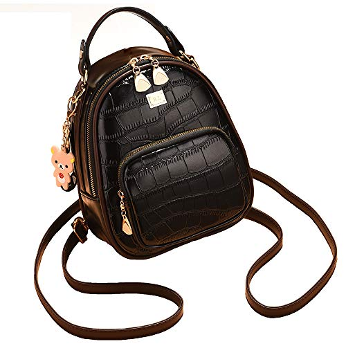 NaSUMTUO Mini Backpack Purse Handbag Shoulder Bag for Daily Work Hiking Travel Daily Use