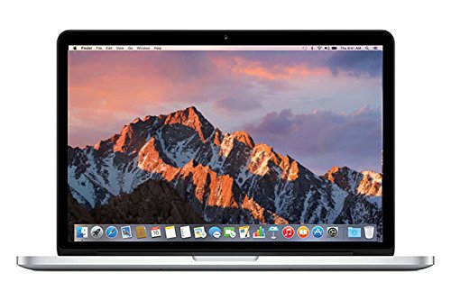 Apple MacBook Pro 13.3-Inch Laptop 2.6GHz (MGX82LL/A) Retina, 8GB Memory, 256GB Solid State Drive (Certified Refurbished)