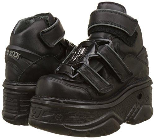 Militar M 001 New Negro s5 Botas Rock Unisex Adulto black 1078 rXXqxv85