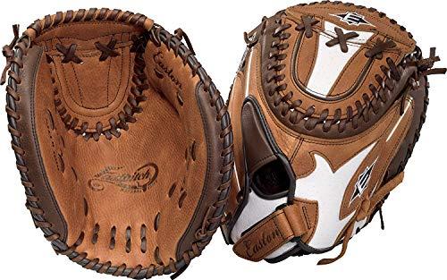 Easton Natural Elite Fast Pitch Softball Glove, Brown, 33  (Right - Glove Right Softball Easton Handed
