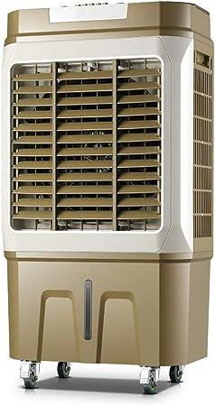 Enfriador De Aire Evaporativo Portátil con Deshumidificador Y Ventilador con Almohadilla De Enfriamiento De Panal De Tres Lados: Amazon.es: Hogar