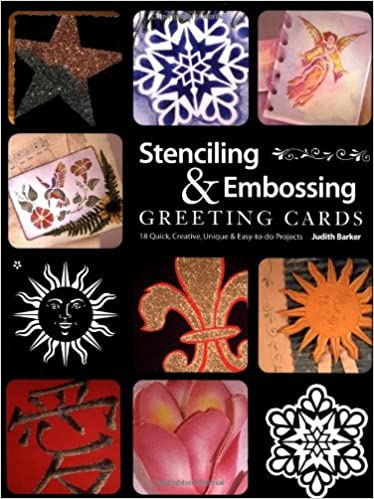 Buy Stenciling Embossing Greeting Cards Book Online At Low Prices In India