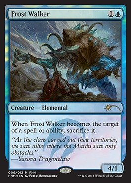 Frost Walker (Magic: the Gathering - Frost Walker (006/012) - FNM Promos - Foil)
