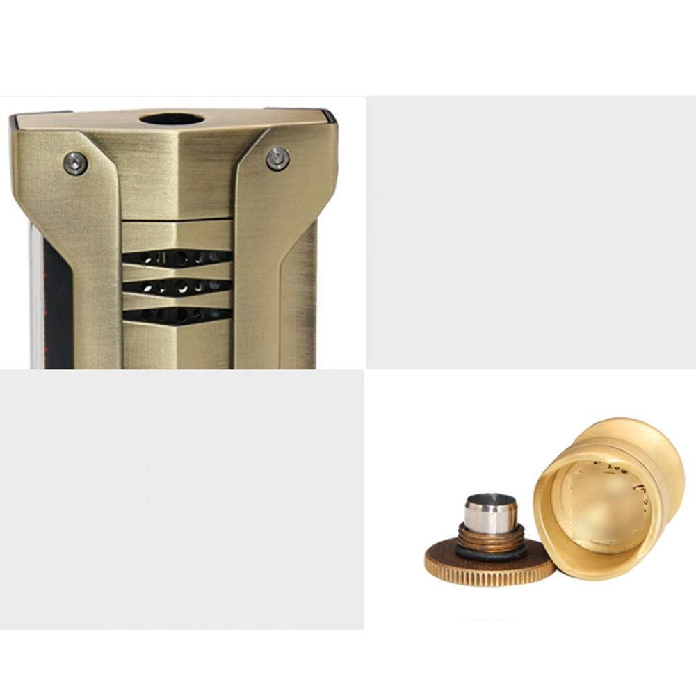 Cigar Smoking Gift Set, Brass Cigar Holder, Ashtray, Cigarette Holder, Cigar Tube 6 Piece Set by LTLSF (Image #5)