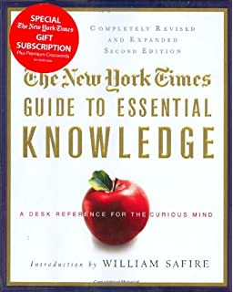 The knowledge book everything you need to know to get by in the the new york times guide to essential knowledge second edition a desk reference for fandeluxe Choice Image