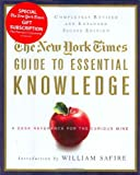 Essential Knowledge, New York Times Staff, 0312376596