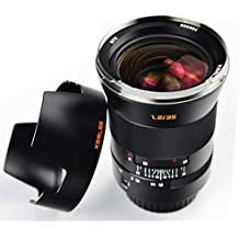 BINORCA 35mm F1.2 Kerlee Prime Fixed Lens for Sony E-Mount Cameras Wide Angle Full Frame Large Aperture Manual Focus