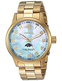 INVICTA MEN'S SEA BASE GOLD-TONE STEEL BRACELET & CASE QUARTZ WATCH 23827
