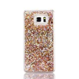Samsung Galaxy S7 case, liujie Liquid Cool Quicksand Moving Stars Bling Glitter Floating Dynamic Flowing Case Liquid Cover for Samsung (ZS 1#)