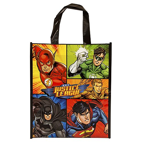 Large Plastic Justice League Goodie Bag, 13
