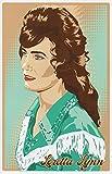 #6: Loretta Lynn Retro 11x17 Poster