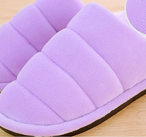 Cotton Pink House Slipper Stylish Hevinle Womens Cozy Indoor Winter ROq85