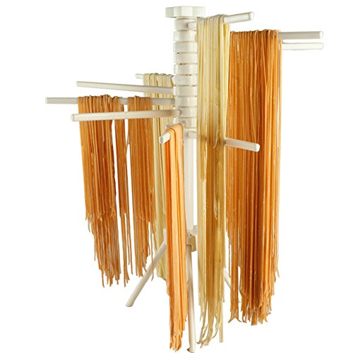 Loghot ABS Material Pasta Drying Rack with 11 Bars Handles C