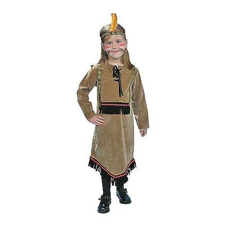 9cde8b38e6dba Dress up America Conjunto de disfraces de lujo para niña india ...