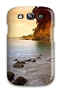 New Style CofbWWp7560oBhpb Rocky Coastline Compatible With For HTC One M7 Case Cover Protection