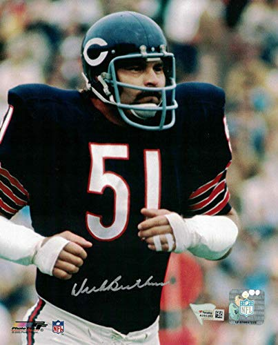 Dick Butkus Autographed/Signed Chicago Bears 8x10 Photo FAN Dick Butkus Signed Photo