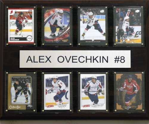 NHL Alex Ovechkin Washington Capitals 8 Card Plaque