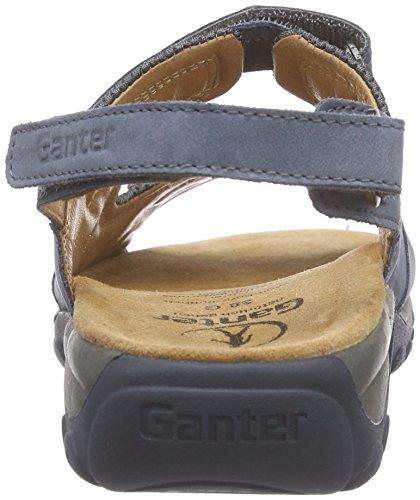 Ganter Glady, Weite G, Sandali Donna Blu (Bleu (Jeans/Asphalt 3461))