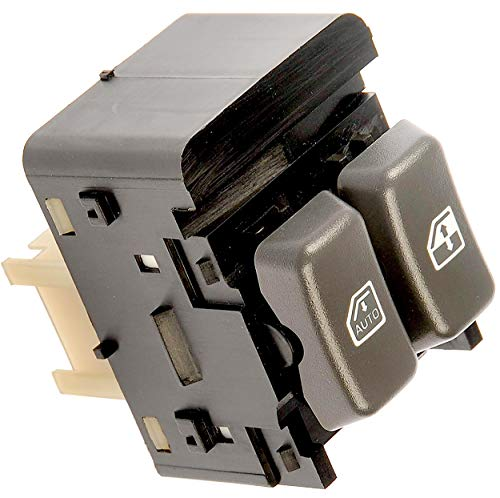 APDTY 012199 Power Window Switch Fits Front Left Driver-Side 2001-2002 Chevrolet Express or Savana 1500 2500 3500 Van (Replaces 19244662, 15047832)