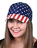 H-6918-6916 USA Baseball Hat - Velcro