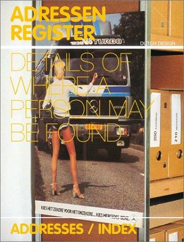 Dutch Design 2002-2003: 5 Index/Business Card (Dutch Edition)