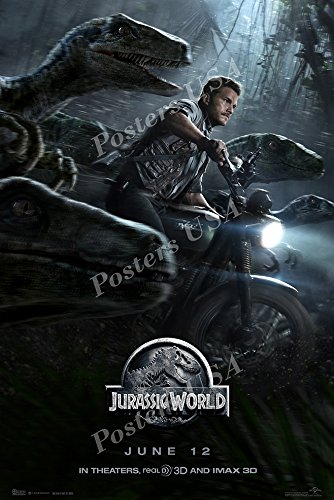Posters USA - Jurassic World Movie Poster GLOSSY FINISH - MO