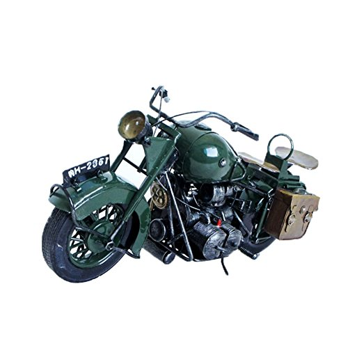 Genda 2Archer Creative Hand Soldering Wrought Iron Motorcycle Model Metal Moto Collection for Motocycle Lovers -