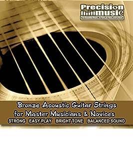 precision music acoustic guitar strings full set phosphor bronze guitar strings. Black Bedroom Furniture Sets. Home Design Ideas