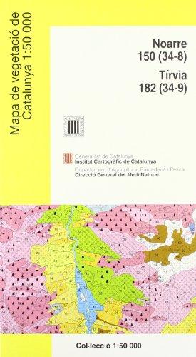 Descargar Libro Mapa De Vegetació De Catalunya 1:50 000 Noarre 150 I Tírvia 182 Desconocido