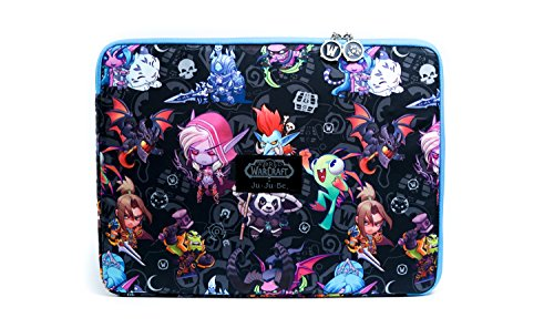 JuJuBe MegaTech Laptop Case, World of Warcraft Collection - Cute But Deadly