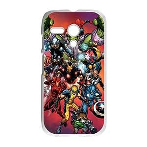 Motorola Moto G Phone Case for Classic movies Hulk Iron Man Thor Theme pattern design GCMHIMT953906