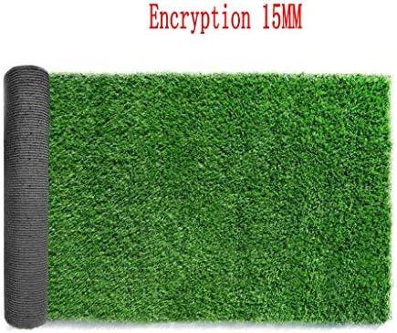 XEWNEG アウトドア/バルコニー/階段装飾カーペットマットについてはガーデン人工ターフグリーン暗号化された人工芝、防水、非フェージング、ノンスリップ、 (Size : 2x9M)