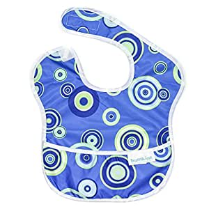Bumkins Waterproof SuperBib, Blue Fizz (6-24 Months)