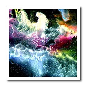 Costasonlineshop Encaustic - Space - 8x8 Iron on Heat Transfer for White Material (ht_236376_1)