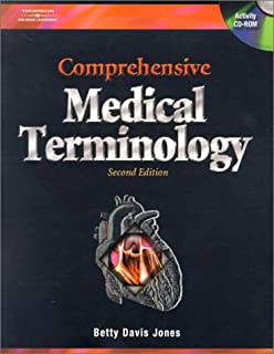 Comprehensive medical terminology betty davis jones 9781435433731 betty davis jones cd rom 3497 prime comprehensive medical terminology fandeluxe Images